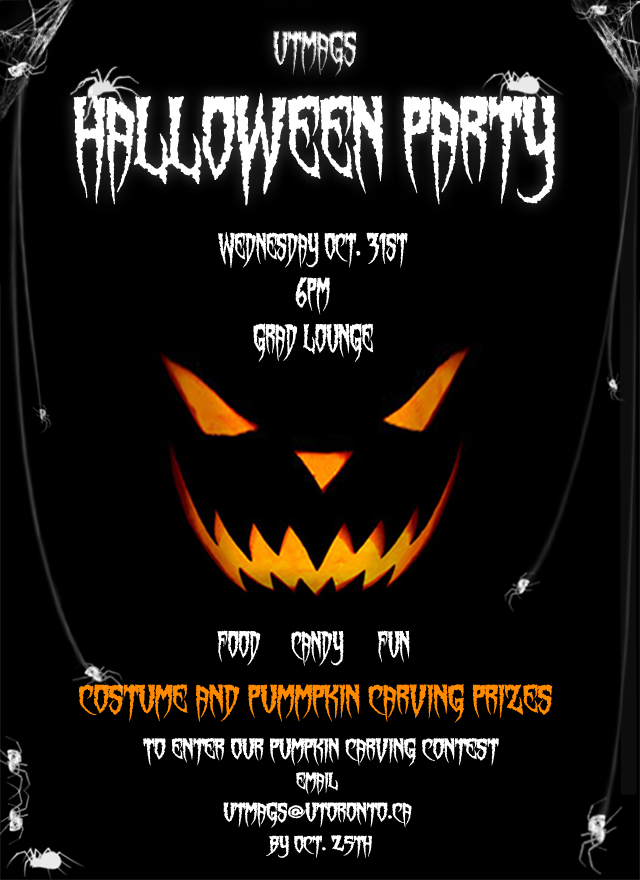 come out to utmags halloween party october 31st - Why Is Halloween On The 31st Of October