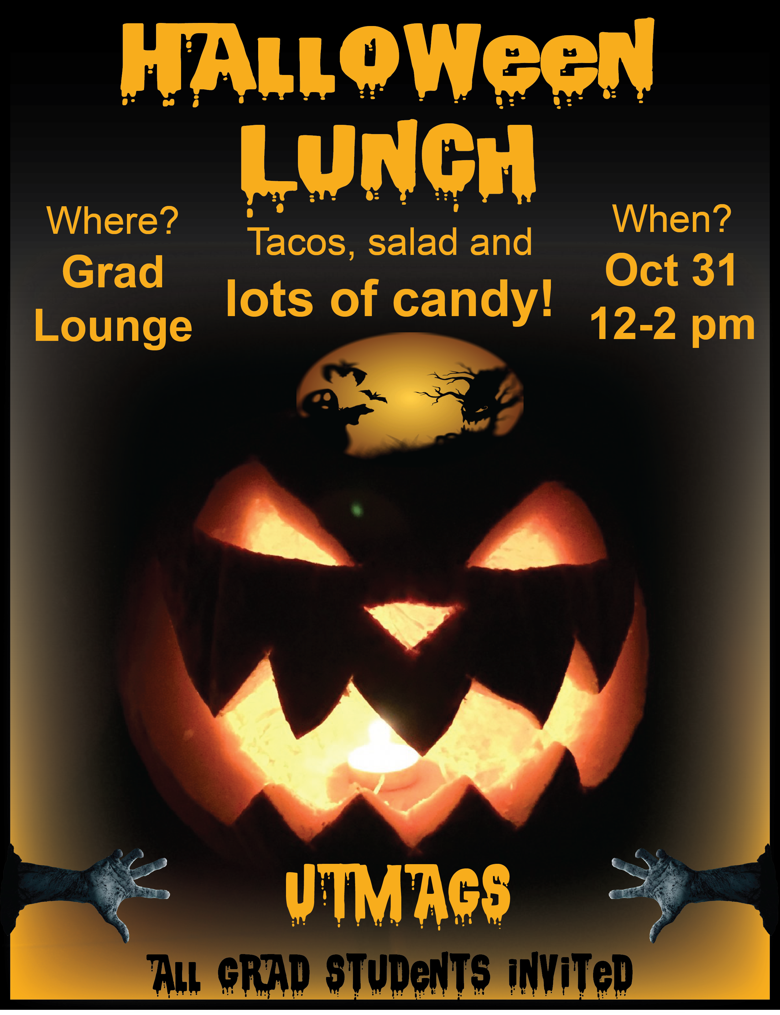 UTMAGS Halloween Party